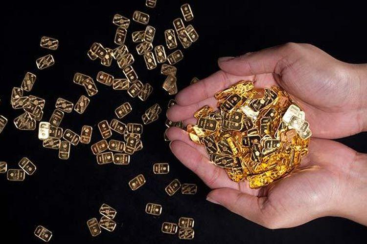 Harga Emas Hari Ini Rp 583 000 Per Gram