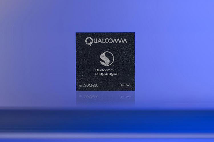 Chipset Qualcomm Snapdragon 450.