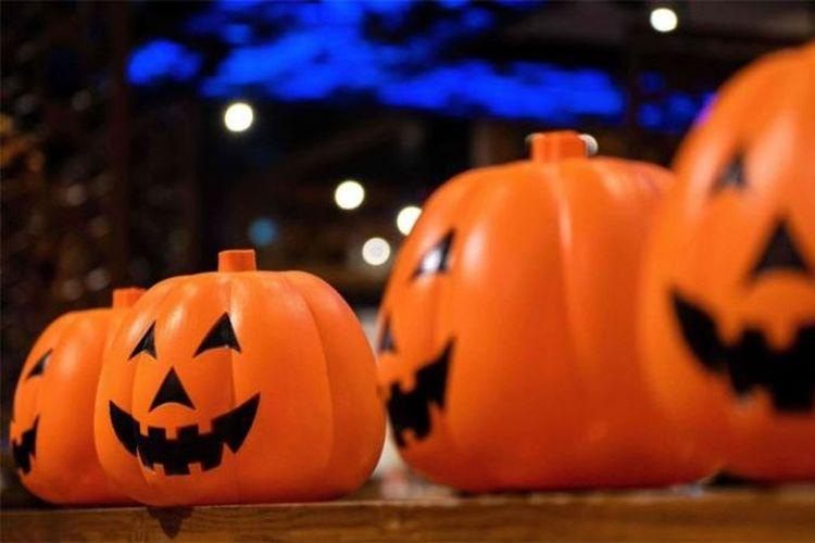 Ilustrasi Halloween. (AFP/Nicolas Asfouri)