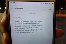 Usai Aksi #GejayanMemanggil2, Beredar SMS Hoaks Atas Nama BEM-KM UGM