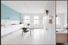 Seperti Inilah Apiknya Apartemen Warna Putih!