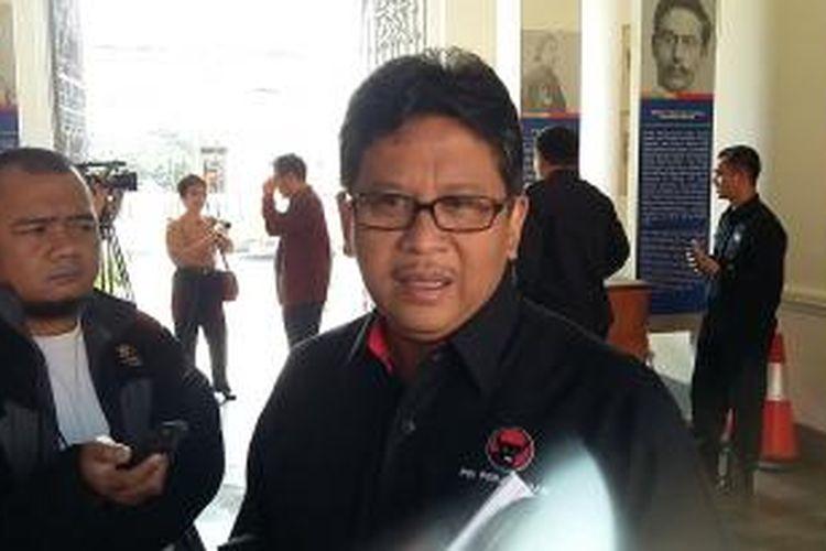 Sekretaris Jenderal PDI-P Hasto Kristiyanto, saat ditemui di Museum Kebangkitan Nasional, Jakarta Pusat, Rabu (20/5/2015).