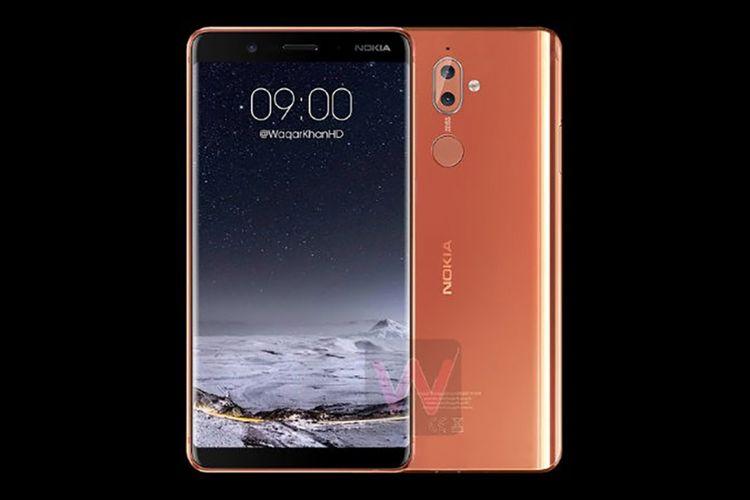 Bocoran gambar render Nokia 9.