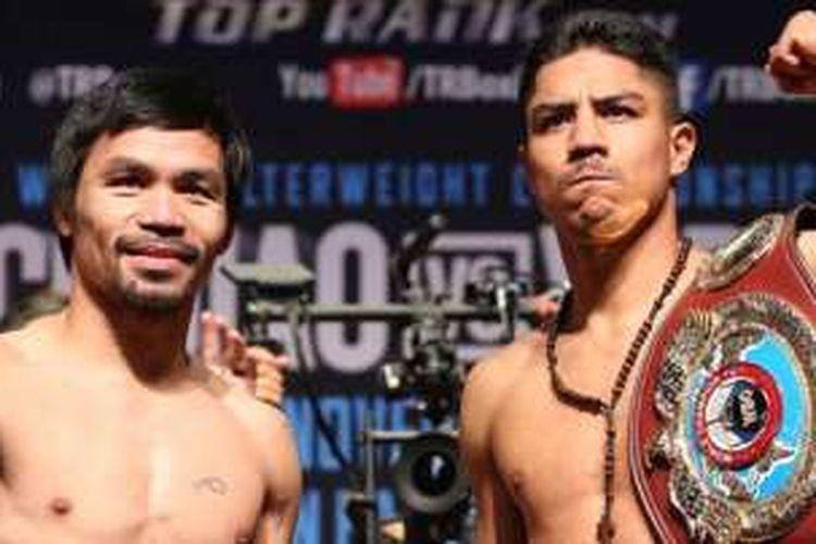 Manny Pacquiao dan Jesse Vargas