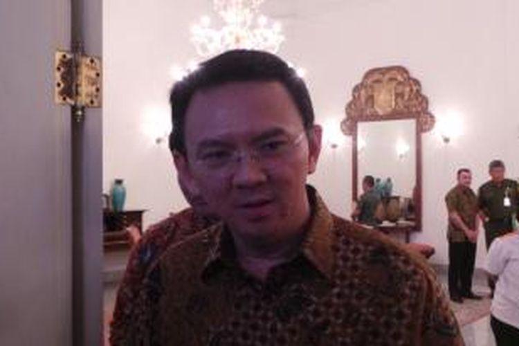 Gubernur DKI Jakarta Basuki Tjahaja Purnama di Balai Kota, Selasa (8/12/2015).