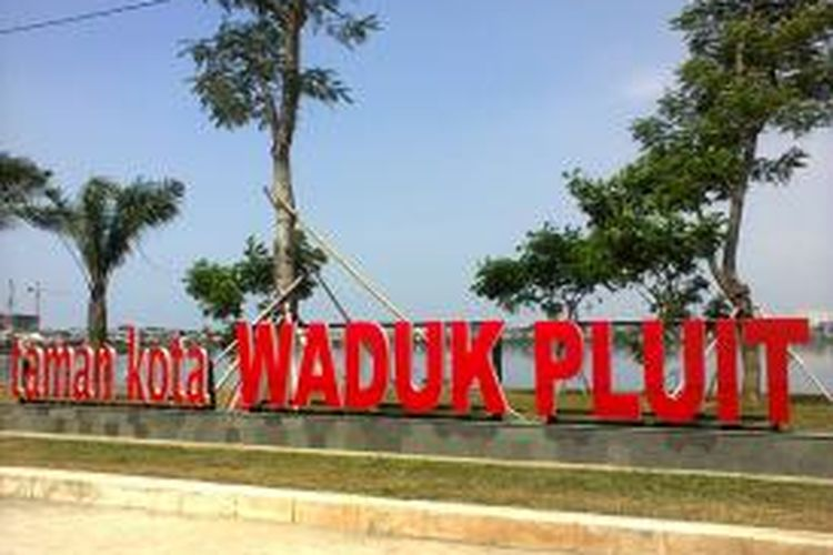 Taman Kota Waduk Pluit di Jakarta Utara.
