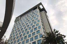 Rekaman CCTV Ungkap Detik-detik Perempuan Lompat dari Teras Hotel di Tanah Abang