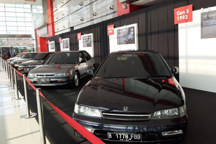 Lintas generasi Honda Accord di Honda Fastival 2