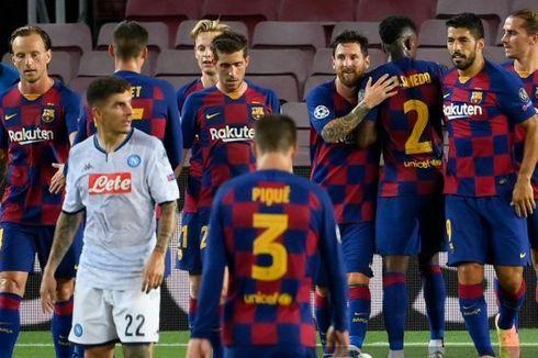 Barcelona Vs Napoli, Barca Bikin Rekor yang Sulit Ditandingi Klub Mana Pun