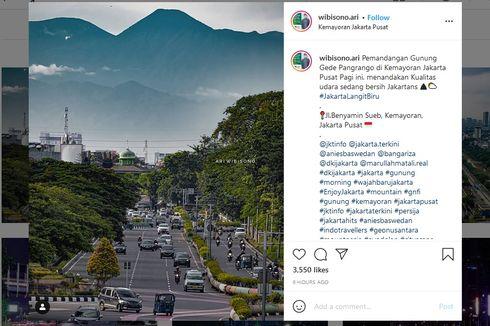 Bantah Foto Tempelan, Ini Proses Ari Wibisono Memotret Gunung Gede Pangrango dari Kemayoran