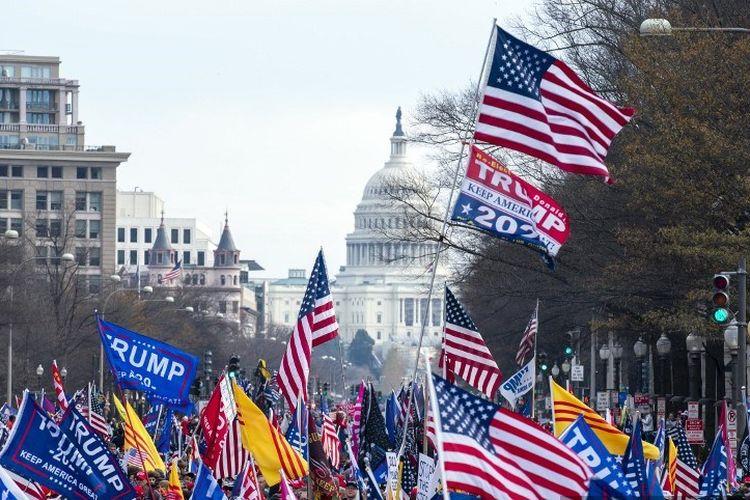 Protes yang direncanakan minggu ini di sekitar Gedung Putih akan terjadi ketika dua peristiwa politik penting berlangsung.