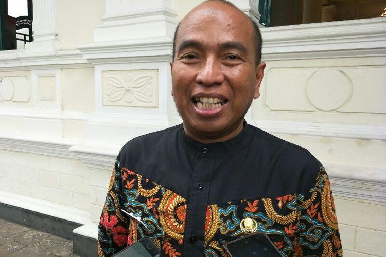 Plt Dinas Pariwisata dan Budaya dan DKI Jakarta, Asiantoro, di Museun Tekstil, Palmerah, Jakarta Barat, Kamis (8/11/2018).