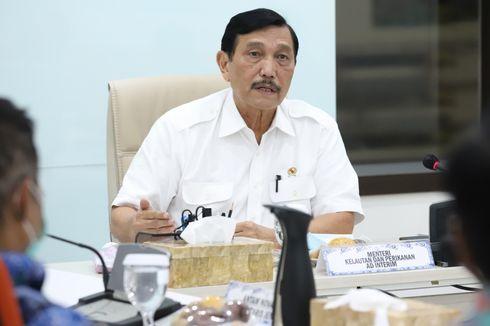 Awali Tugas Menteri KP Ad Interim, Luhut Serahkan DIPA 2021 dengan Pagu Anggaran Rp 6,65 Triliun