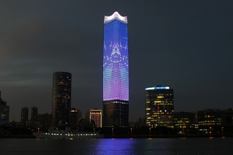 Gedung Sinar Mas Center Tertinggi No 5 di Shanghai