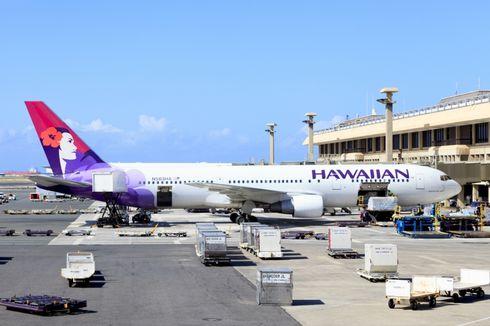 Pesawat Hawaiian Airlines Tiga Kali Bolak-balik Bandara Sebelum Akhirnya Batal Terbang