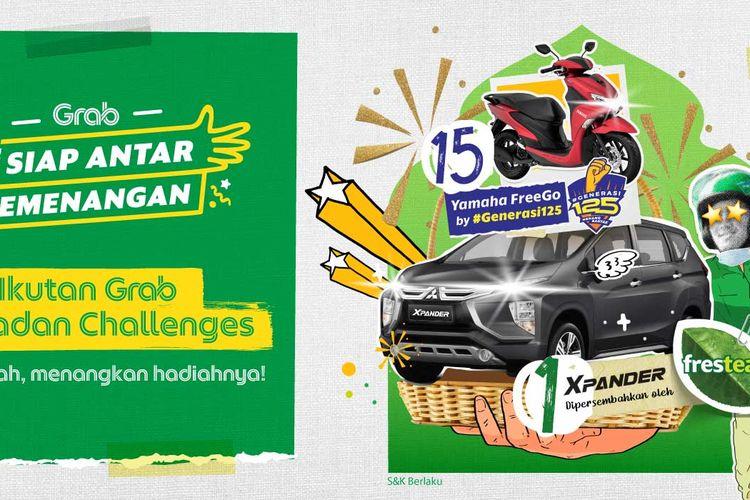 Grab Ramadan Challenge, tantangan berhadiah utuk pengguna setia.
