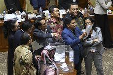 Saat Canda Tawa Warnai Voting Pimpinan KPK di Komisi III DPR...