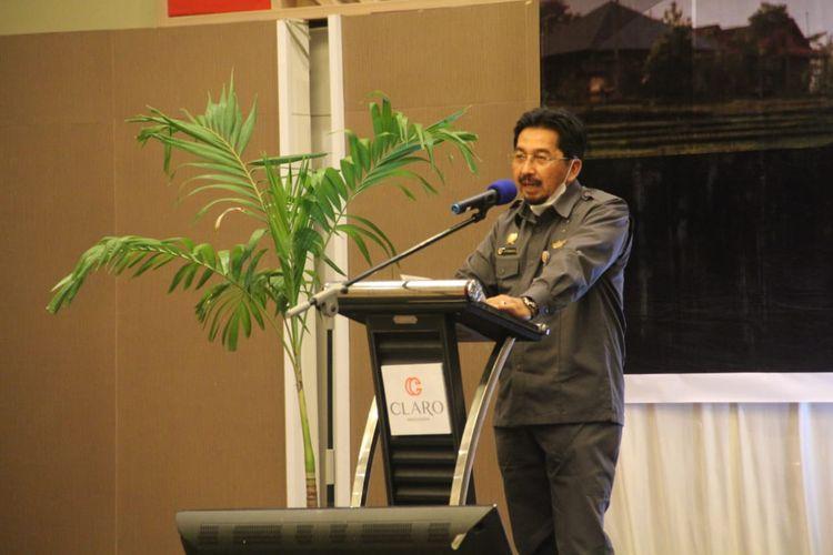 Mentan Syahrul Yasin Limpo berharap AUTP bisa menjamin petani yang alami gagal panen, Rabu (21/10/2020).