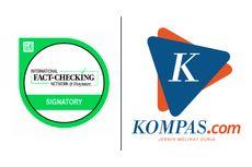 Kompas.com Tersertifikasi dalam Jaringan Internasional Penguji Informasi