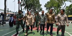 Puan Berikan Semangat kepada TNI dan Polri Jelang Pelantikan Presiden