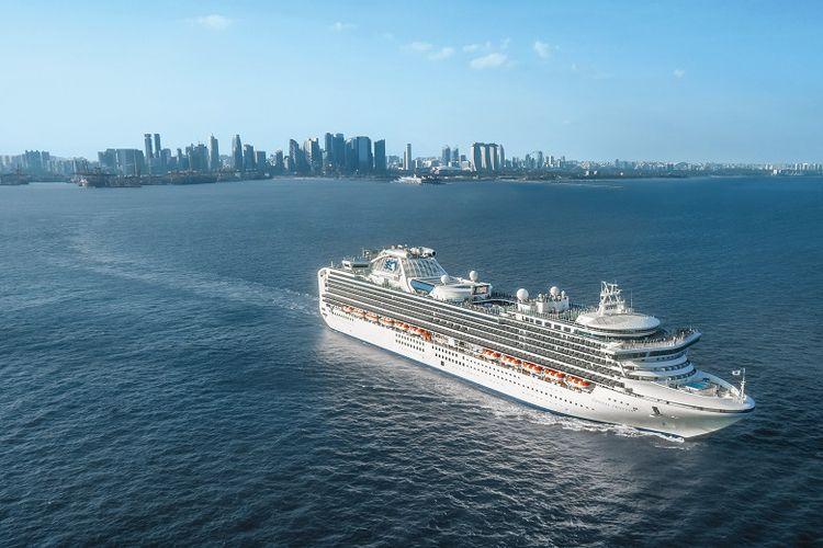 Kapal Pesiar Princess Cruises di Singapura