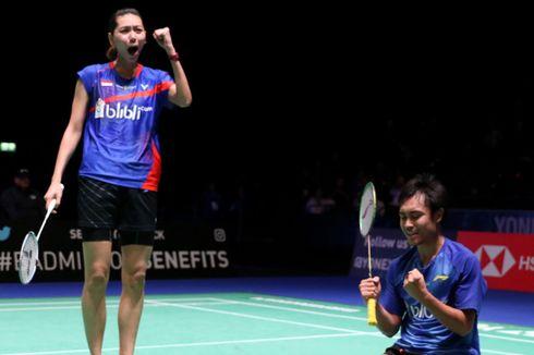 Hasil Indonesia Open 2019, Nyaris Kalah, Hafiz/Gloria Akhirnya Lolos