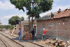 Perluasan Depo Lokomotif, 66 Rumah Warga di Lahan KAI Dibongkar