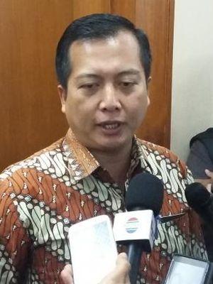 Direktur Perlindungan WNI Kementerian Luar Negeri RI, Lalu Muhammad Iqbal, saat ditemui di Gedung Kemenlu, Jakarta Pusat, Kamis (20/8/2015).