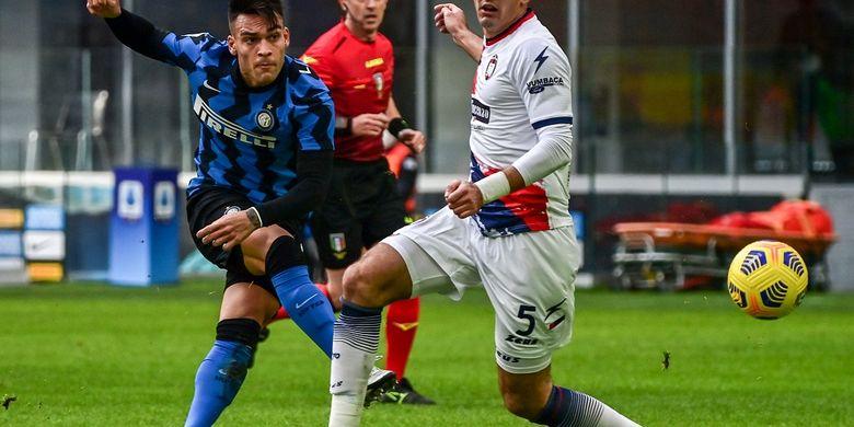 Paling Baru, Inter Vs Crotone, Keluarga dan Hattrick Sempurna Lautaro Martinez