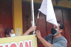 Tak Bisa Berjualan Selama PPKM Darurat, PKL di Tegal Kibarkan Bendera Putih