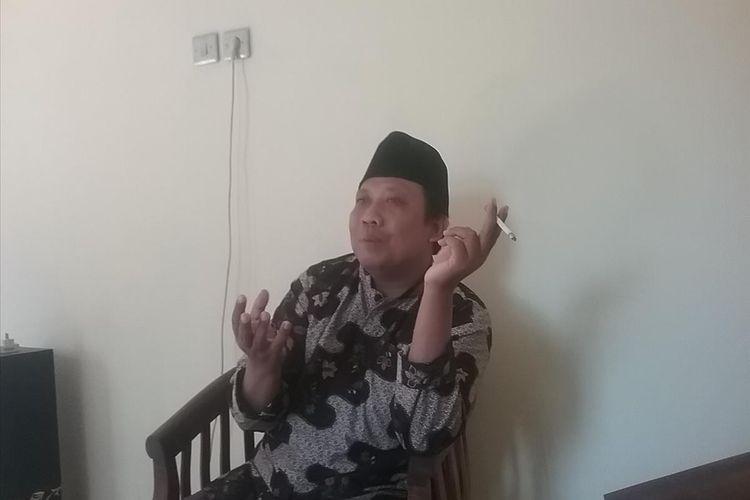 Petani Surokonto Wetan Pageruyung Kendal, Noor Azis, yang bebas karena mendapat grasi dari presiden. KOMPAS.com/SLAMET PRIYATIN