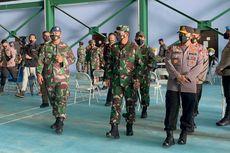 Panglima TNI dan Kapolri Tinjau Vaksinasi Covid-19 di Natuna