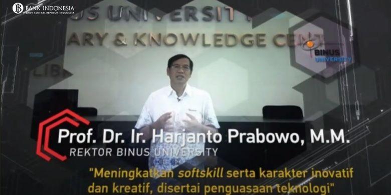 Binus University menjadi satu-satunya universitas swasta yang terpilih dalam program Kampus Merdeka Bank Indonesia (BI) dan Kemendikbud.