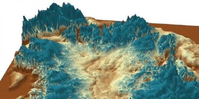 Ngarai raksasa ditemukan di Greenland. Ngarai tersebut tertutup oleh lapisan es. Bila lapisan es itu memeleh, dipercaya permukaan laut akan naik 7 meter.