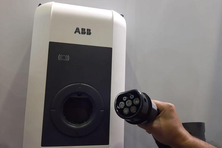 Charging station milik ABB