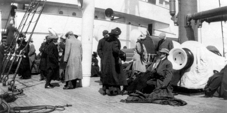 Penumpang Titanic yang selamat di Carpathia