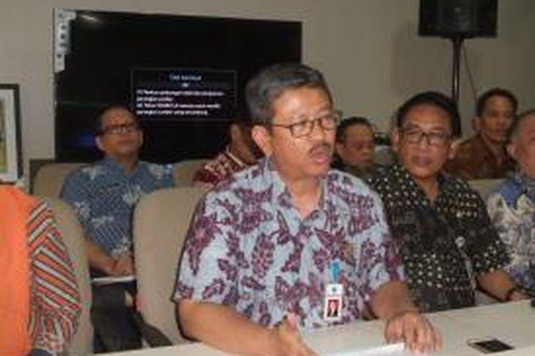 Kepala Dinas Pendidikan DKI Jakarta Arie Budhiman di Balai Kota, Kamis (23/7/2015)