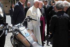 Harley-Davidson Paus Fransiskus Laku Rp 4 Miliar
