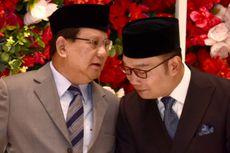 Bertemu Prabowo dan Saling Berbisik, Ridwan Kamil Klaim Tak Ada Obrolan Politik