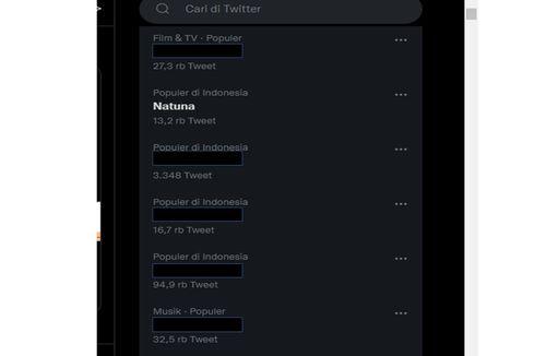 Trending di Twitter, di Mana Letak Natuna dan Apa Potensi Perairannya?