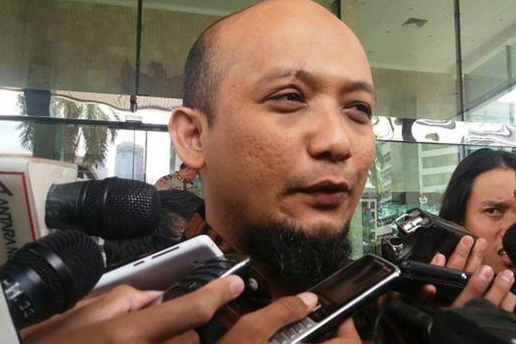 Penyidik Komisi Pemberantasan Korupsi (KPK) Novel baswedan di Gedung KPK, Kuningan, Jakarta Selatan, Jumat (18/12/2015)