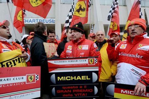 Penggemar Rayakan Ulang Tahun Schumacher