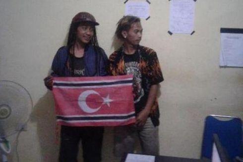 Bawa Bendera GAM di Vespa, Pemuda Berambut Gimbal Ditangkap
