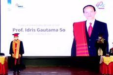 Binus University Kukuhkan Idris Gautama So Jadi Guru Besar