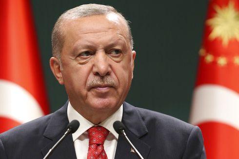 Erdogan Anggap Kecaman AS pada Kelompok Militan Cuma Sekadar Lelucon