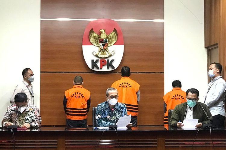 Komisi Pemberantasan Korupsi (KPK) menetapkan Pelaksana Tugas (Plt) Kepala Dinas Pekerjaan Umum Pekerjaan Umum Penataan Ruang dan Pertahanan (Kadis PUPRT) Kabupaten Hulu Sungai Utara, Kalimantan Selatan, Maliki sebagai tersangka pada Kamis (16/9/2021).