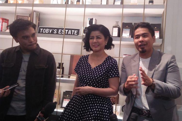 Bams Eks Samsons di Pondok Indah Mall, Jakarta Selatan, Jumat (21/6/2019).