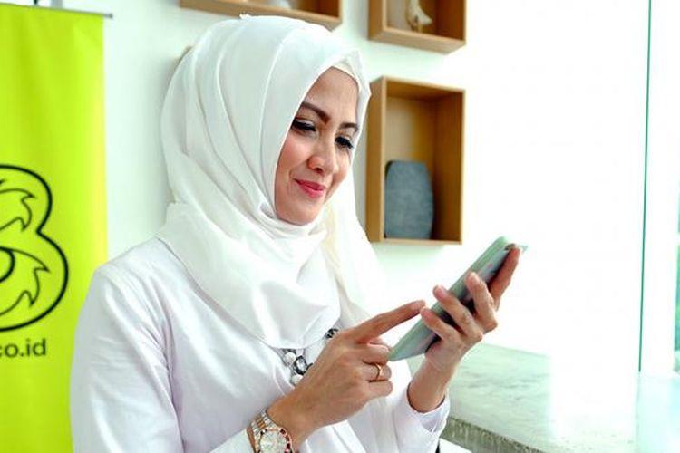 Operator seluler Tri hadirkan paket layanan bagi jamaah haji Indonesia.