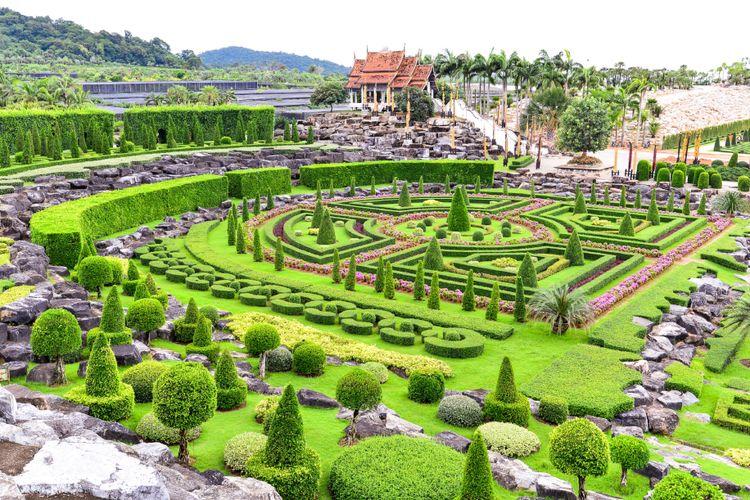 Nong Nooch Tropical Garden di Pattaya, Thailand.