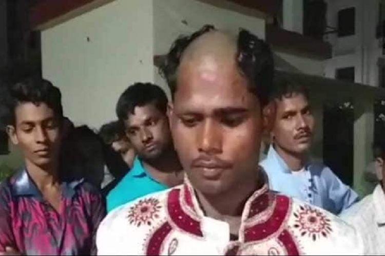 Pria ini digunduli keluarga calon istrinya karena berlebihan meminta maskawin.